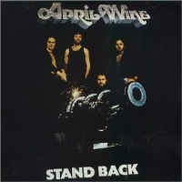 April Wine Stand Back cover art