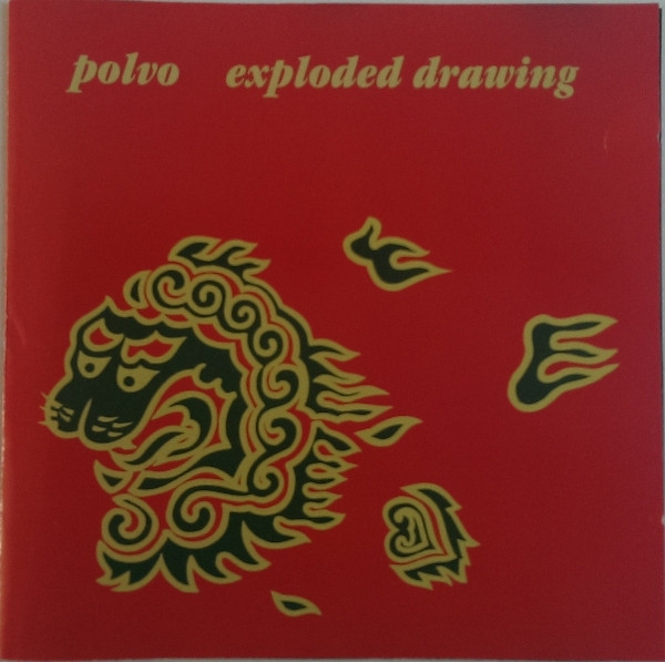 Polvo Exploded Drawing cover art