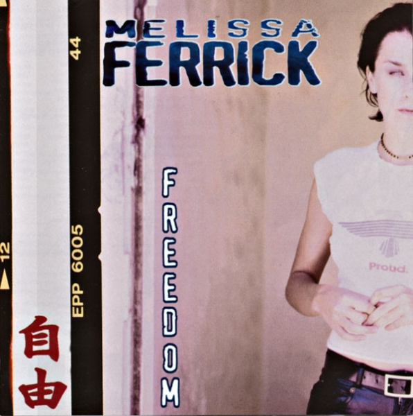 Melissa Ferrick Freedom cover art