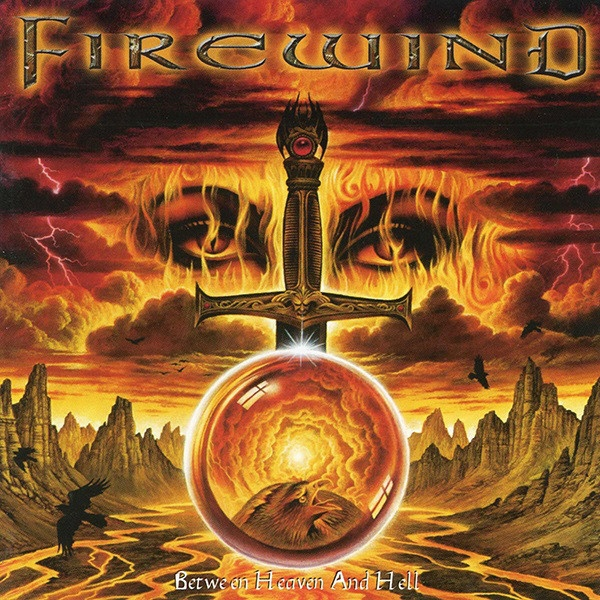 Firewind Between Heaven and Hell cover art