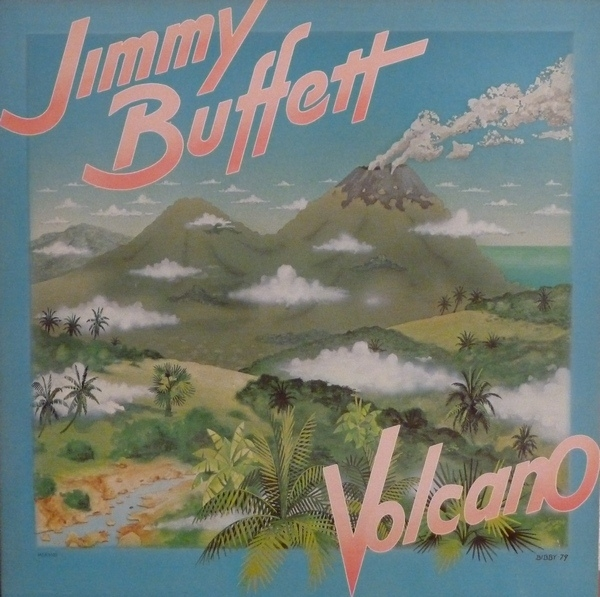 Jimmy Buffett Volcano cover art