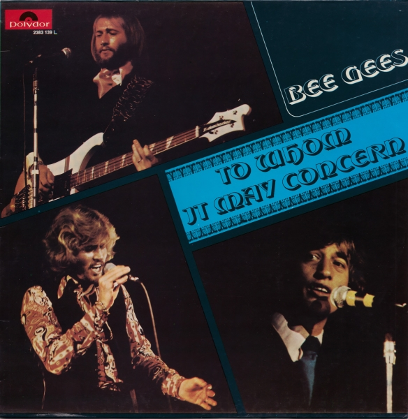 Bee Gees To Whom It May Concern Cover Art