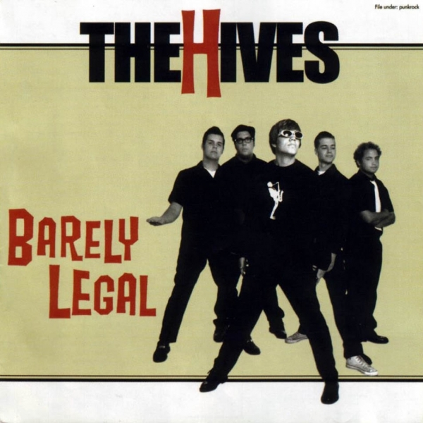 The Hives Barely Legal cover art
