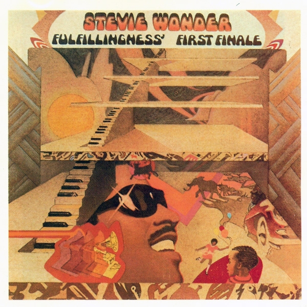Stevie Wonder Fulfillingness' First Finale cover art