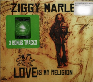 Ziggy Marley Love Is My Religion cover art