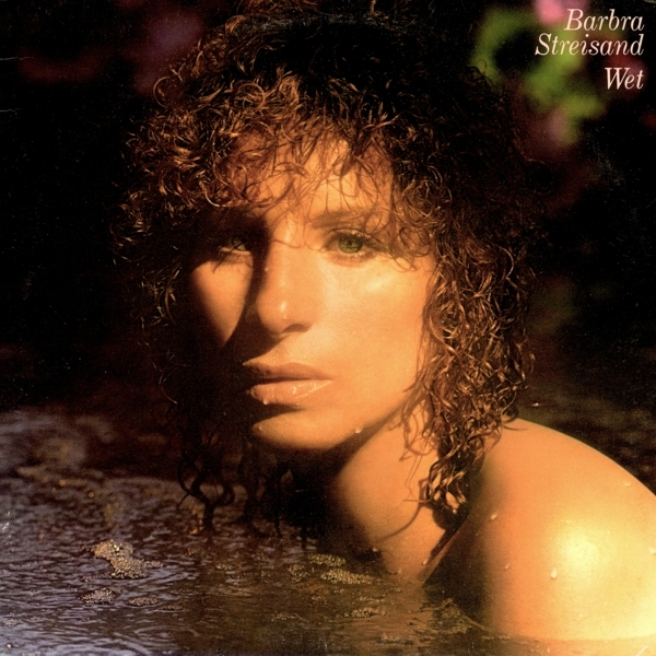 Barbra Streisand Wet cover art
