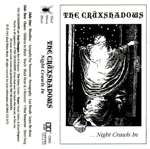 The Crüxshadows ... Night Crawls In cover art