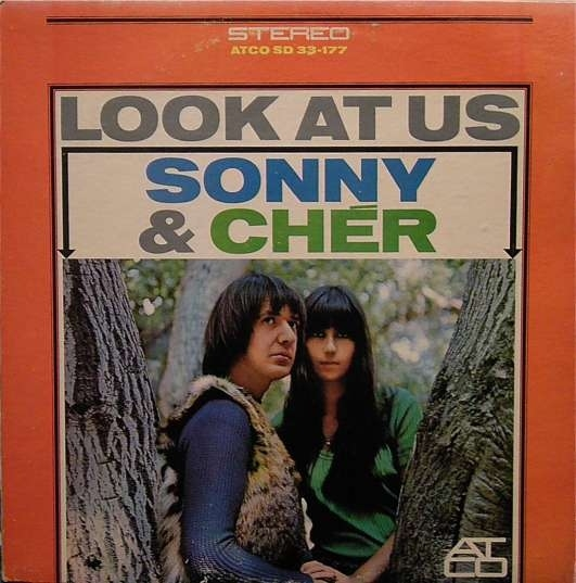 Sonny & Cher Look at Us cover art