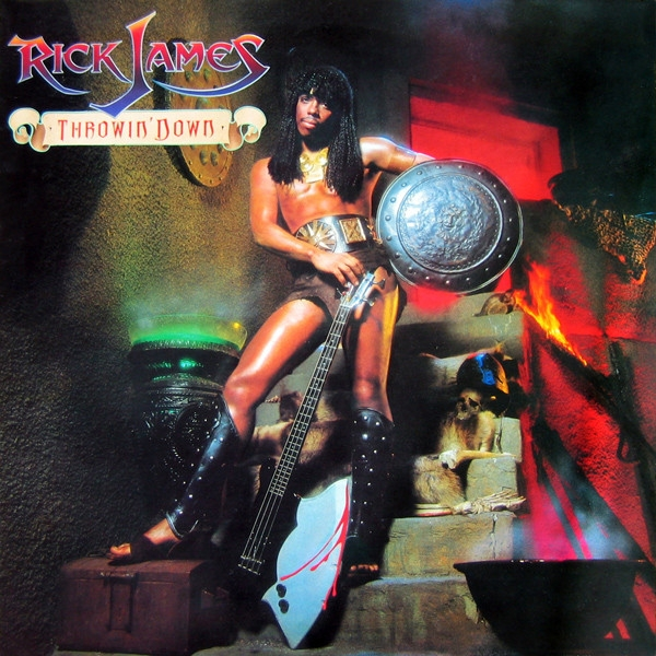 Rick James Throwin' Down cover art