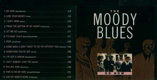 The Moody Blues The Magnificent Moodies Cover Art