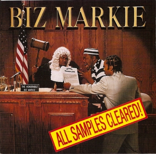 Biz Markie All Samples Cleared! Cover Art