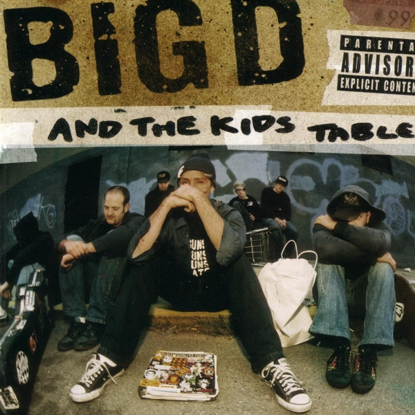 Big D and the Kids Table How It Goes Cover Art