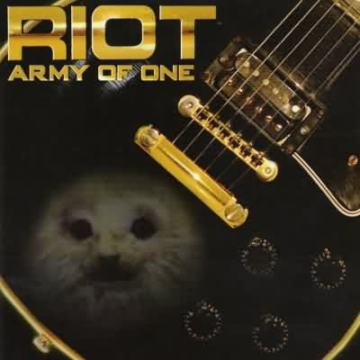 Riot V Army of One cover art