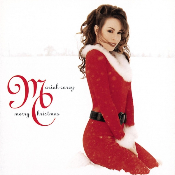 Mariah Carey Merry Christmas cover art