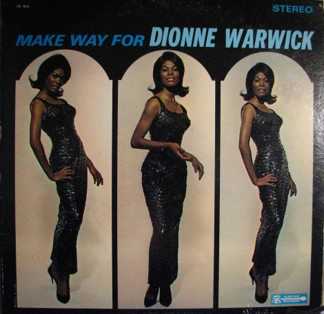 Dionne Warwick Make Way for Dionne Warwick cover art