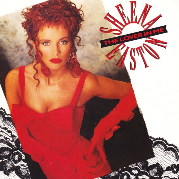 Sheena Easton The Lover in Me cover art