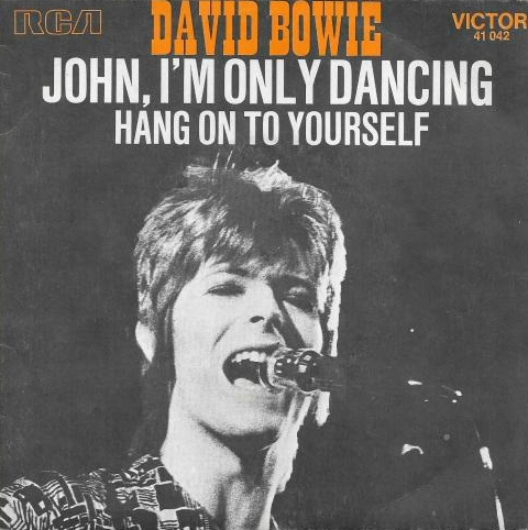 David Bowie John, I'm Only Dancing Cover Art