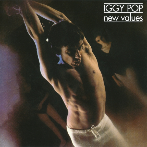 Iggy Pop New Values cover art