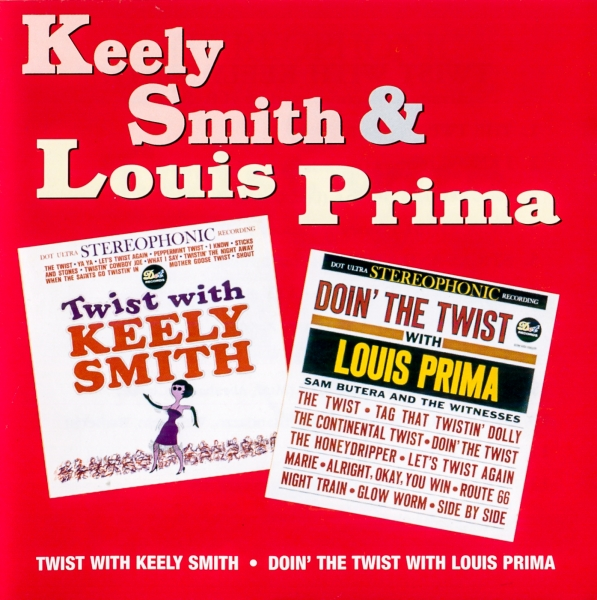 Keely Smith Twist With Keely Smith / Doin' The Twist With Louis Prima cover art