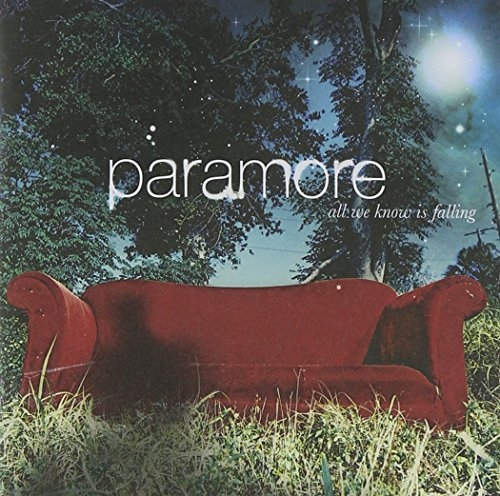 Paramore All We Know Is Falling cover art