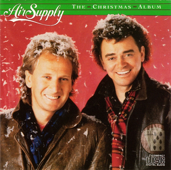Air Supply The Christmas Album cover art