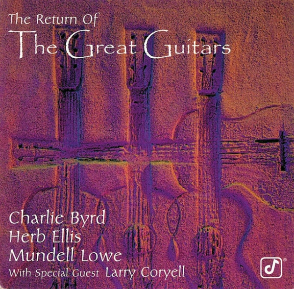 Charlie Byrd The Return Of The Great Guitars cover art