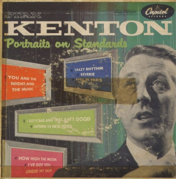 Stan Kenton Portraits on Standards Cover Art