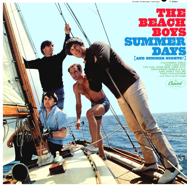 The Beach Boys Summer Days (and Summer Nights!!) cover art