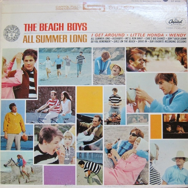 The Beach Boys All Summer Long cover art