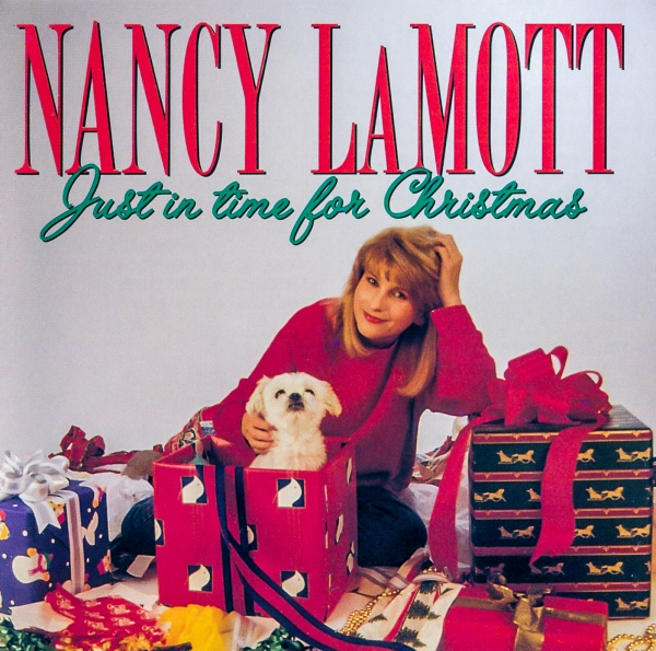Nancy LaMott Just in Time for Christmas cover art
