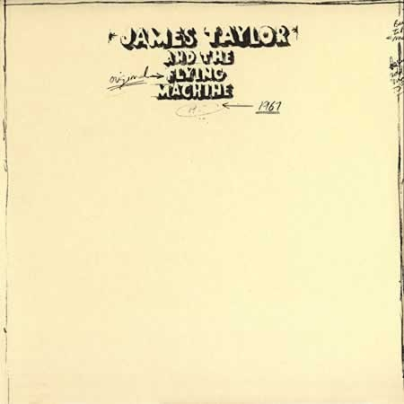 James Taylor Original Flying Machine 1967 cover art