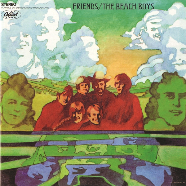 The Beach Boys Friends Cover Art