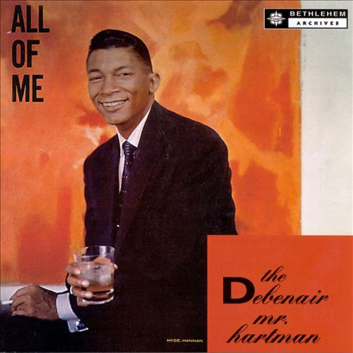 Johnny Hartman All of Me cover art