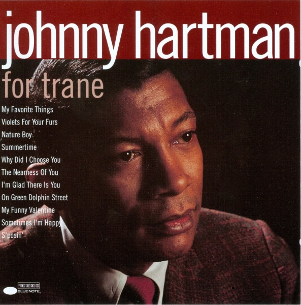 Johnny Hartman For Trane cover art