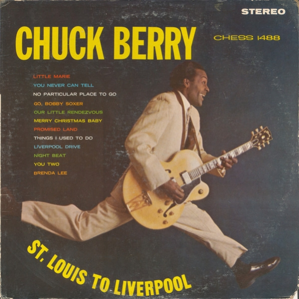 Chuck Berry St. Louis to Liverpool cover art
