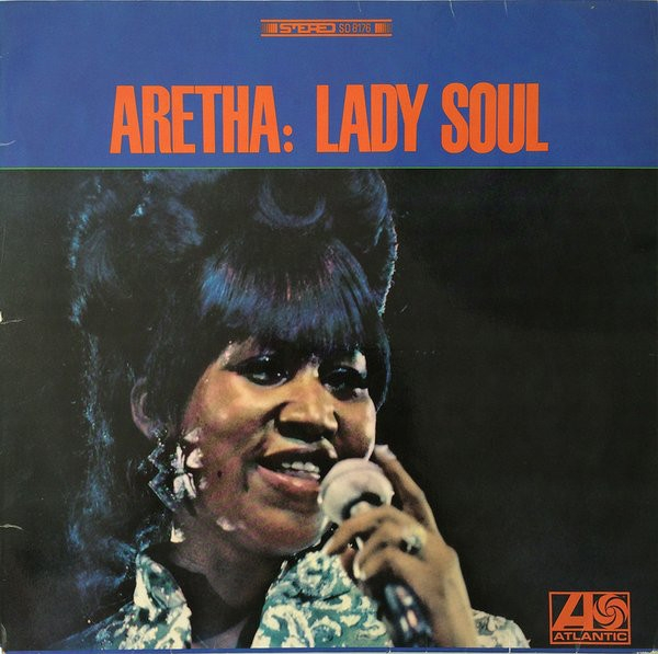 Aretha Franklin Lady Soul cover art