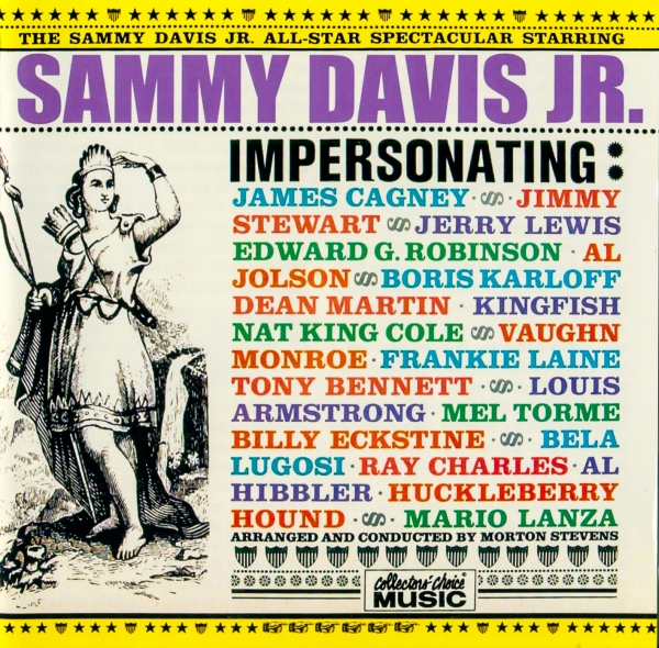 Sammy Davis Jr. All-Star Spectacular cover art