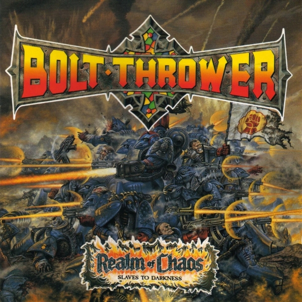 Bolt Thrower Realm of Chaos Cover Art