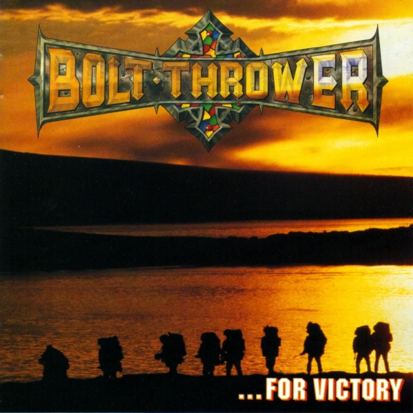 Bolt Thrower …for Victory cover art