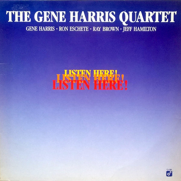 The Gene Harris Quartet Listen Here! cover art
