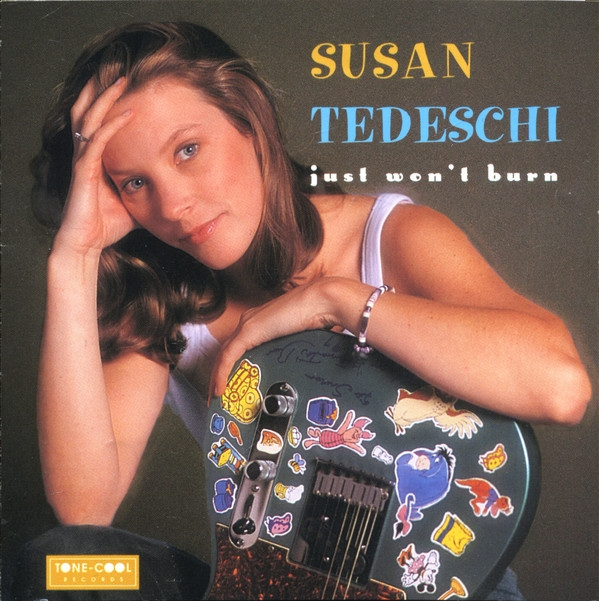 Susan Tedeschi Just Won't Burn cover art