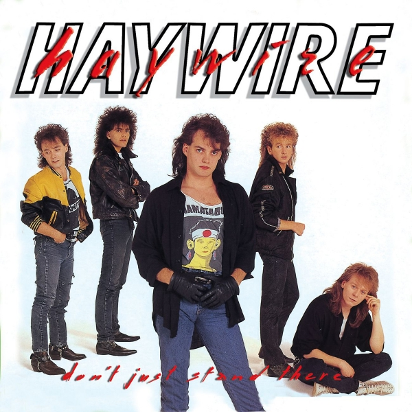 Haywire Don't Just Stand There cover art