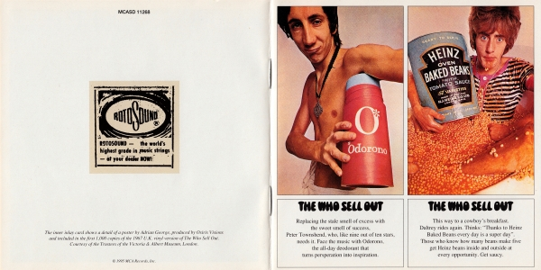 The Who The Who Sell Out cover art