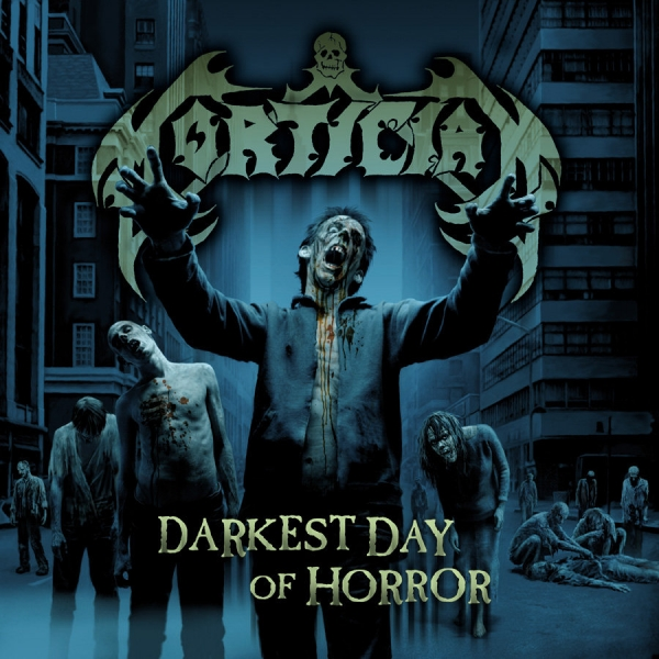 Mortician Darkest Day of Horror Cover Art