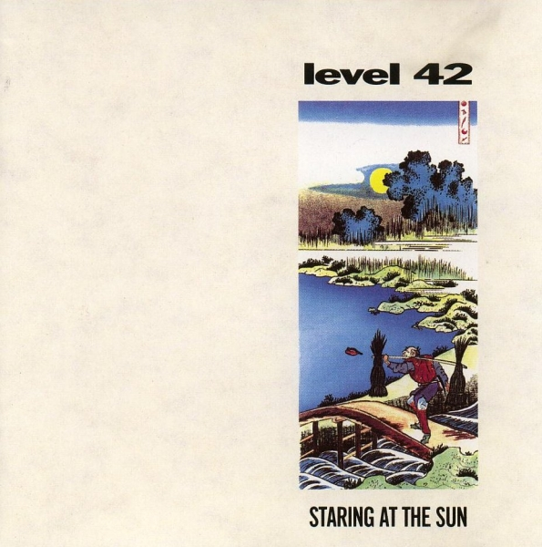 Level 42 Staring at the Sun Cover Art