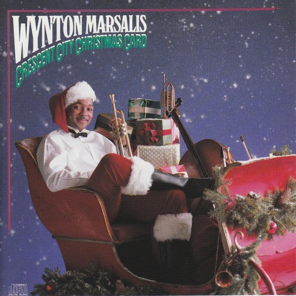 Wynton Marsalis Crescent City Christmas Card cover art