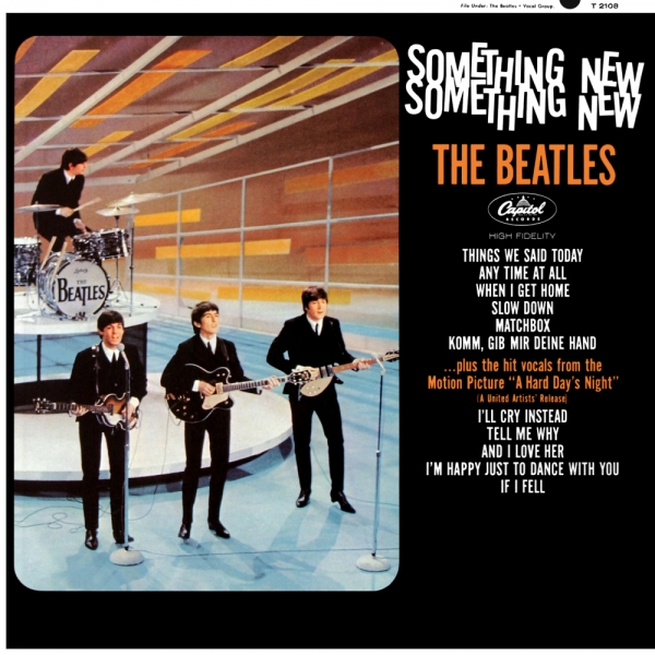 The Beatles Something New cover art