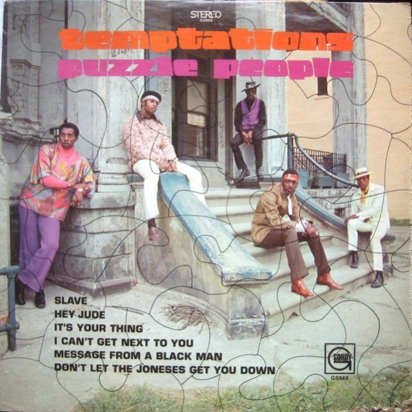 The Temptations Puzzle People cover art