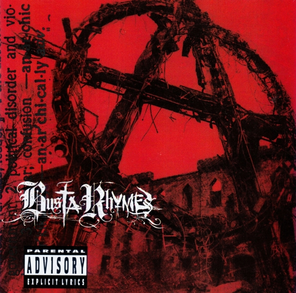 Busta Rhymes Anarchy Cover Art