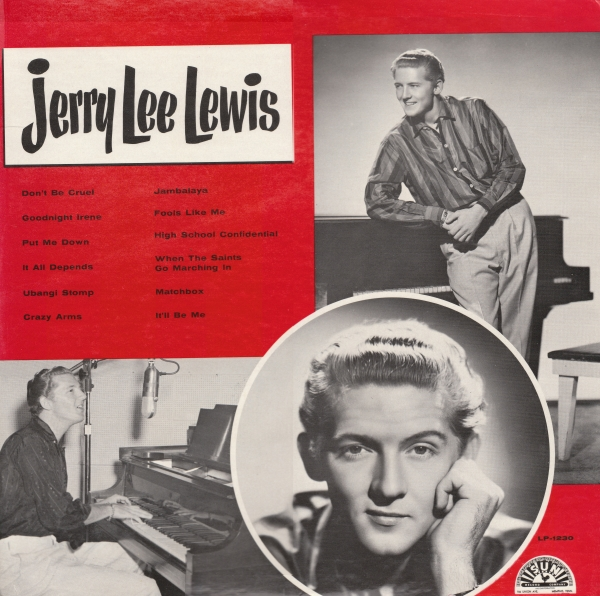 Jerry Lee Lewis Jerry Lee Lewis cover art